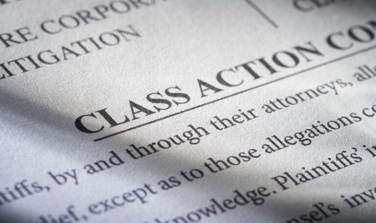 Class-action lawsuit paper